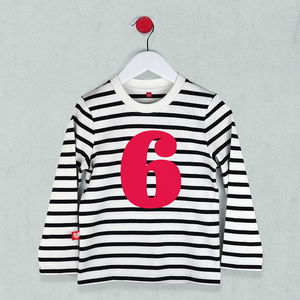 Age Six T Shirt For Kids
