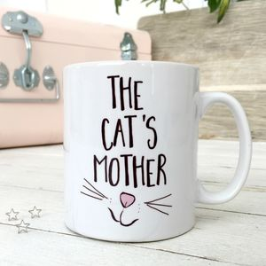 'The Cat's Mother' Cat Mug - pet-lover