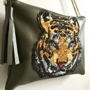 Leather Tiger Bag