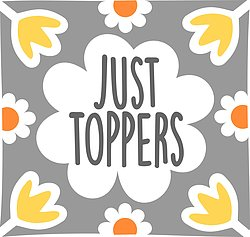 Just Toppers Flower Logo