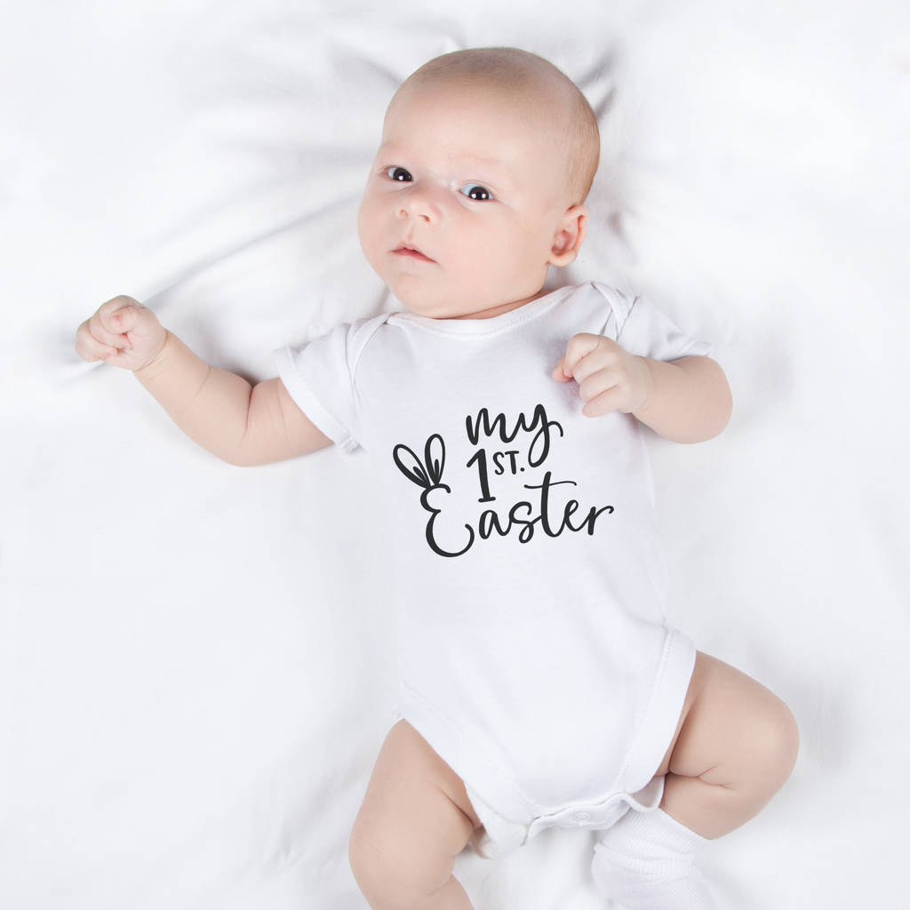 My First Easter Babygrow