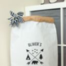 Personalised Adventure Paper Storage Bag