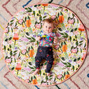 Colourful Quilted Baby Playmat