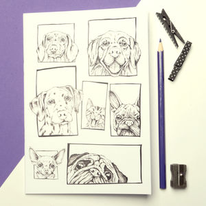 Dog Faces Notebook