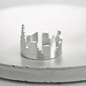 London City Skyline Ring - children's jewellery