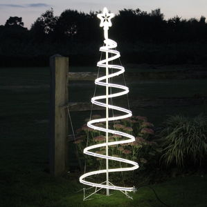 Illuminated Christmas Tree - outdoor lights
