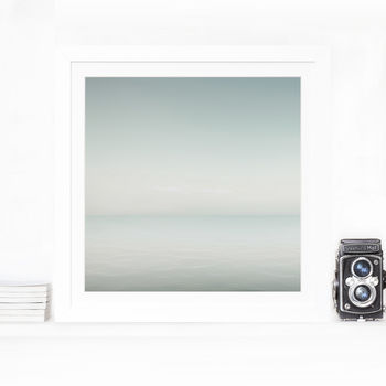 Sea Grey Home Fine Art Print
