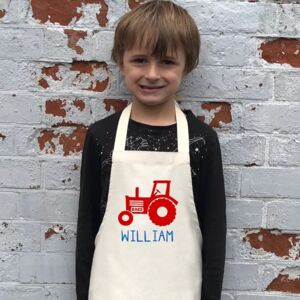 Personalised Tractor Apron