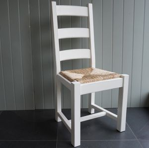 Ladder Back Chair Hand Painted In Any Colour - dining chairs