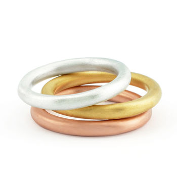 Halo Stacking Ring Set