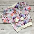 Rose Print Girls Jumper
