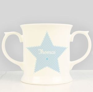 Personalised Loving Cup: Baptism/Christening Gift