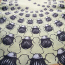 Concentric Beetles | Long Silk Scarf