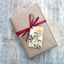 Gift wrapping and card option