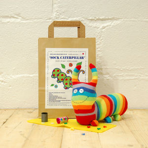 Sock Caterpillar Craft Kit
