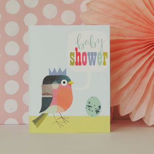 Birdy Mini Baby Shower Card