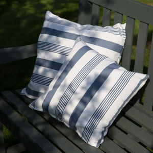 Oilcloth Outdoor Cushions - bedroom