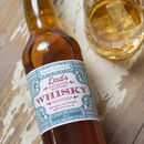 Personalised Vintage Style Whisky