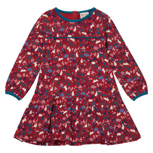 Bunny Print Dress - children's dresses