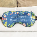 Personalised Eye Mask, Travel And Sleeping Gift