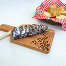 Belgian Chocolate Saucisson With Board