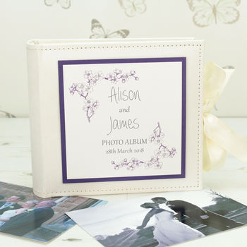 Personalised Emily Wedding Photo Album