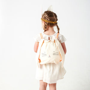 Bunny Back Pack - children's accessories