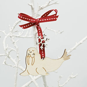 Walrus Christmas Decoration