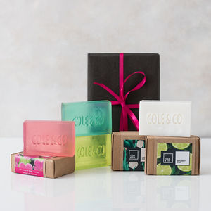 Create Your Own Pampering, Welsh Handmade Soap Gift Set