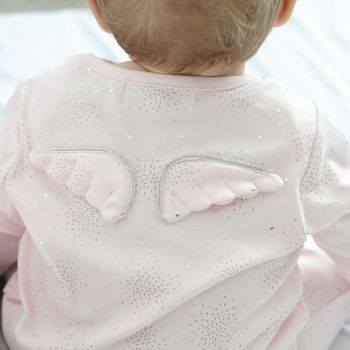 Stardust Angel Wings Babygrow