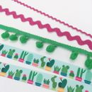 Cactus Ribbon Collection. Summer Party Gift Wrap
