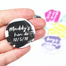 Personalised Name And Date Hen Party Badges