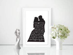 Wedding Silhouette And First Dance Lyrics