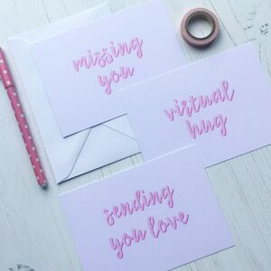 Thoughtful Post Card Set