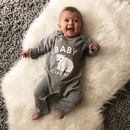 Baby Polar Bear Rompersuit