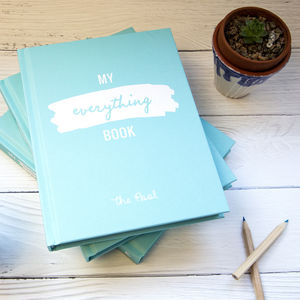 My Everything Book Planner From The Pool - gifts for her