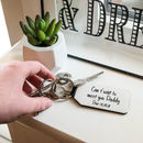 Personalised Ultrasound And Message Keyring