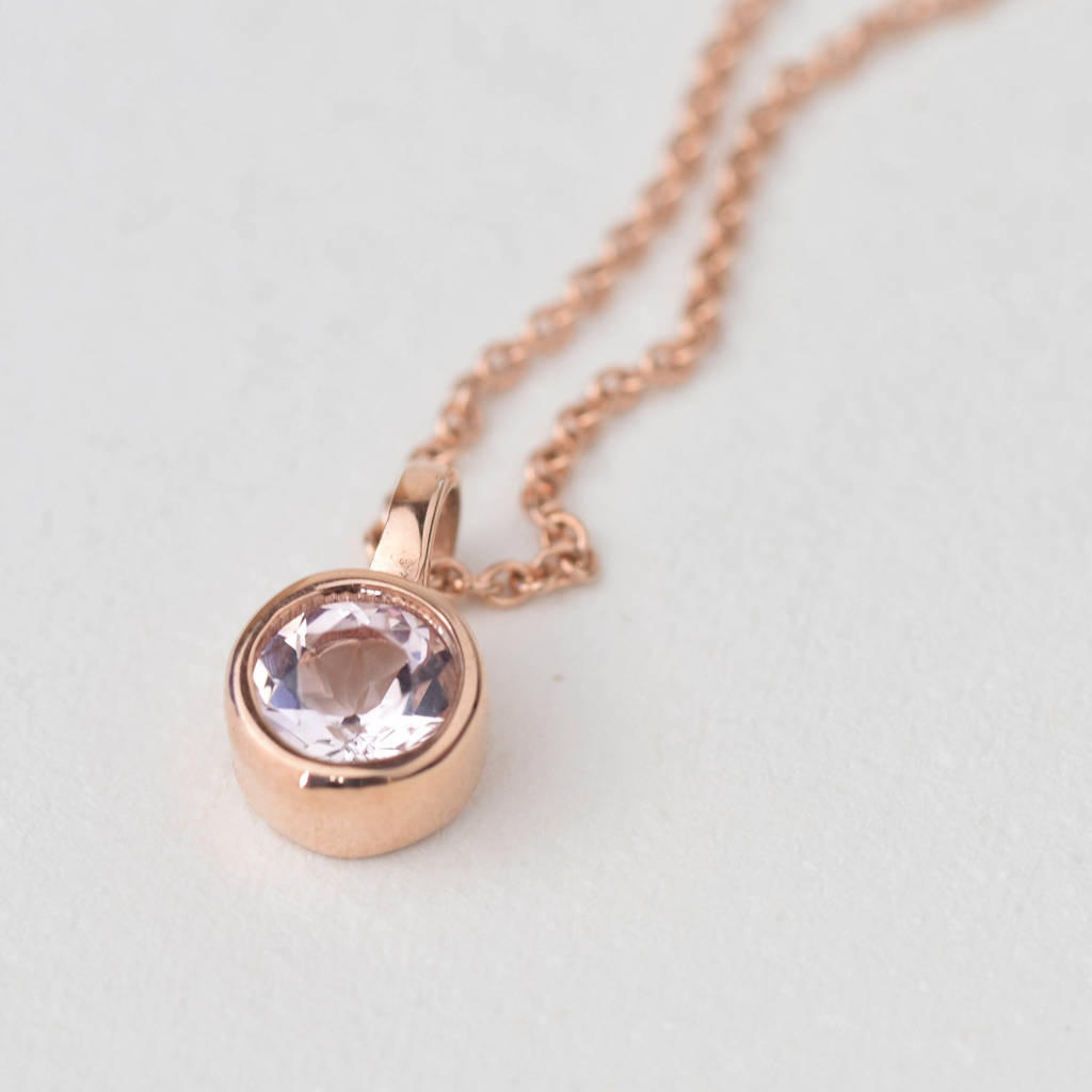 morganite products jewelry pink linz diamond collections necklace kai necklaces