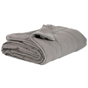 Pure Cotton Grey Quilt - bedspreads & quilts