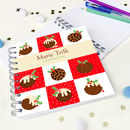 Christmas Pudding Notebook