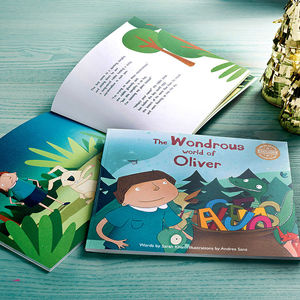 Limited Edition Personalised Child's Story Book - gifts for children