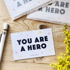 You Are A Hero Mini Pocket Cards Pack