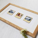 Personalised Mini Wooden Photo Frames Print