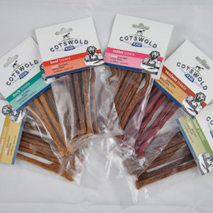Natural Dog Treat Range - dogs
