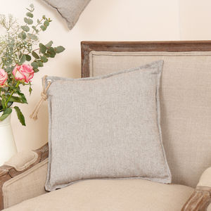 Corde De Pays Scatter Cushion With Rope Tassel