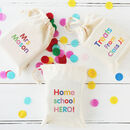 Any Text Thank You Teacher Gift Bag