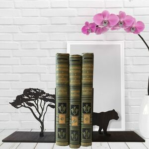 Tiger And Tree Bookends