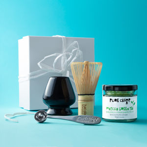 Matcha Green Tea Gift Set Box - teas, coffees & infusions