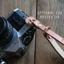 Personalised Leather Camera Wrist Strap