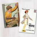 A Set Of Personalised Husband And Wife Books